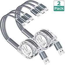 Multi USB Retractable Charging Cable, Arsiperd 4FT ... - Amazon.com