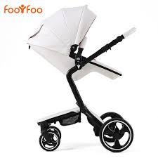 European <b>Luxury Baby Stroller</b> 2 in 1 High View <b>Prams</b> Folding ...