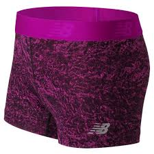New Balance 71127 Women's <b>Accelerate Printed Hot Short</b> - Pink ...