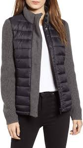 <b>Women's</b> Mark <b>New York</b> Packable Knit Trim Puffer <b>Jacket</b>, Size Small