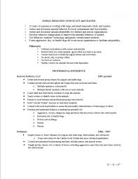 dog trainer resumes template dog trainer resumes