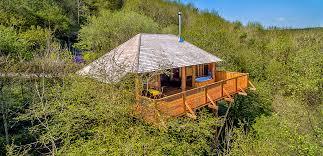 <b>Black Wolf</b> Treehouse - Wolf Wood Treehouses - Devon