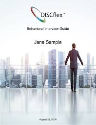 disc behavioral interview guide indaba global coaching discflex behavioral interview guide 30 online hiring disc assessment