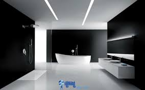 Modern Bathroom Lights Exclusive Touch Of Harmonious Style  Home Design Interior And Ideas