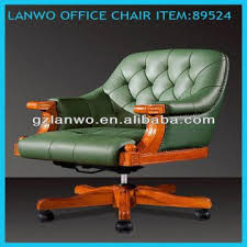 discount price leather antique wood office chair height adjustment and swivel function for sale antique leather swivel desk chair