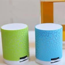 Crack LED Portable Mini Wireless Bluetooth Speakers with ... - Vova