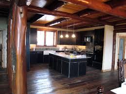 caacecbaafdaef cabin kitchen design pictures