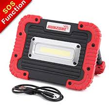 SUNZONE Portable <b>LED COB</b> Work <b>Light</b>,Outdoor Waterproof Flood ...