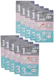 Holika Holika Pig Clear Black Head 3-Step Kit 10 ... - Amazon.com