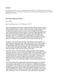 the nacirema essay body rituals of the nacirema essays