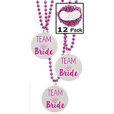 Team Bride Beads, Bachelorette Party Favors - 12 ... - Amazon.com