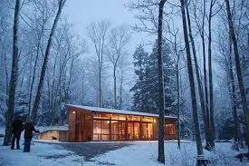Architecture and Home Design   passive solar gainSmall House   Natural Cooling and Remote Operated Mechanical System