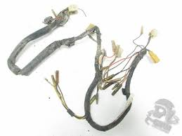 wiring harnesses grim cycle salvage 1980 1981 1980 yamaha dt175 dt175 main wiring harness loom 3j0 8