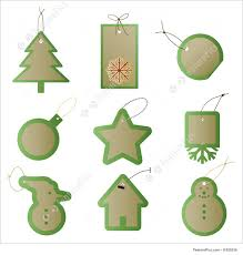 templates christmas gift present tags stock illustration christmas gift present tags