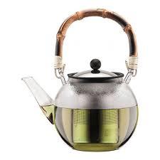 <b>Чайник заварочный</b> 1,5 л с бамбуковой ручкой Bodum <b>Assam</b> за ...