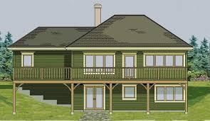 Small House Plans   Walkout Basement  ranch   walkout    Small House Plans   Walkout Basement