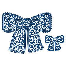 <b>YaMinSanNiO Lace Bow Metal</b> Cutting Dies Scrapbooking Card ...