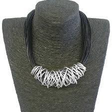 Heart <b>Leather</b> Choker Costume Necklaces & Pendants for sale | eBay