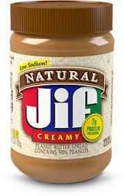 <b>Natural</b> Creamy <b>Peanut Butter</b> - Jif <b>Peanut Butter</b>