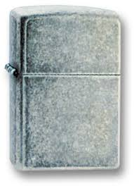 <b>Зажигалка ZIPPO Antique Silver</b> Plate латунь/никель-хром (121FB ...
