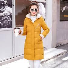 <b>PinkyIsBlack Winter Jacket Women</b> Down Cotton Coats Long ...
