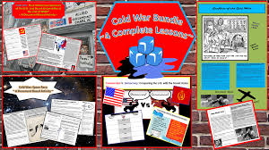 cold war bundle ~ complete lessons on the cold war student 4 cold war lessons resources