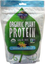 Garden of Life <b>Organic Plant Protein</b> Smooth Vanilla -- 9.4 oz - Vitacost
