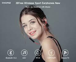 <b>1MORE</b> iBFree2 Wireless Earphone Sports Earphones E1018BT ...