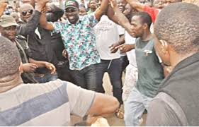 Image result for OBASEKI CELEBRATE VICTORY IN EDO