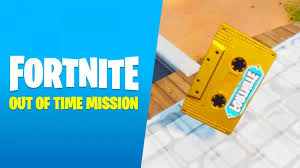 Visitor tape recording locations for Fortnite Out of Time Mission ...