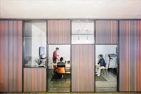 likearchitects kinematix office is adaptable with sliding garage doors architects sliding door office