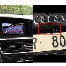 HD Dynamic Trajectory Parking Line Car <b>Rear View Trunk Handle</b> ...