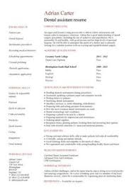 images about dental assistant on pinterest   dental  dental    no work experience dental assistant resume  good layout