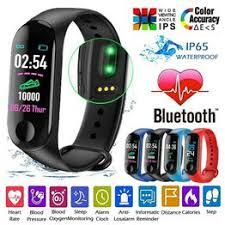NEW M3 Smart Watch Heart Rate Blood Pressure Monitor ... - Vova