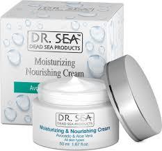 Dr. Sea Увлажняющий и <b>питательный крем с маслом</b> авокадо и ...