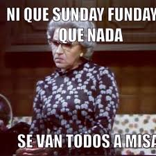 "Que Pasa, U.S.A.? on Twitter: ""Abuela says is mass time! http://t ..."