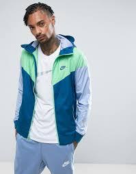 Синяя <b>ветровка Nike</b> 727324-459 - <b>Синий</b> CL000022578826, <b>цвет</b> ...