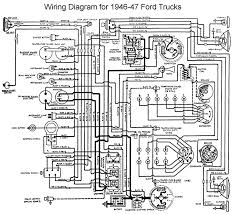 flathead electrical wiring diagrams wiring for 1946 to 47 ford trucks