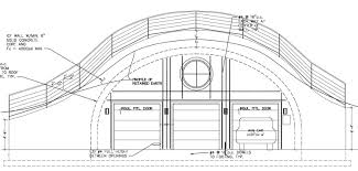 Final Drawings    Home in the EarthHere you can see that the engineer did the ICF rebar layout before realizing that the rebar went past the edges of the quonset hut  They added the ICF