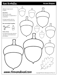 acorn templates printable acorn shapes blank shape pdfs acorn templates acorn shapes acorn templates acorn shapes