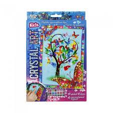 <b>Danko</b> Toys Набор креативного творчества Crystal Art Дерево ...