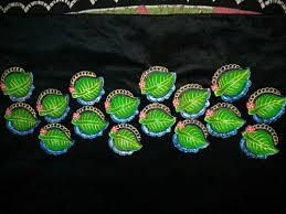 Green And <b>Purple</b> Clay Diwali Diya, Rs 10 /<b>pair</b>, Diya Stock | ID ...