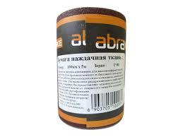 <b>бумага наждачная ABRAforce</b> ткань 100мм х 5м (Р120) арт ...