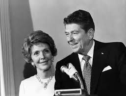 nancy reagan to be buried next to husband at ronald reagan library ronald reagan and nancy reagan circa 1980 in los angeles photo by reed saxon
