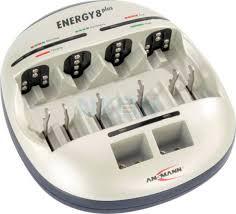 <b>Ansmann</b> energy 8 plus зарядное устройство для <b>батареек</b>