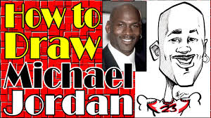 How To Draw A Quick <b>Caricature Michael Jordan</b> - YouTube