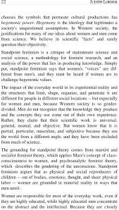 the variety of feminisms and their contribution to gender equality standpoint feminism is a critique of mainstream science and social science a methodology for feminist