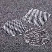 Sago Brothers Fuse Beads Boards Hexagon, <b>Square</b>, <b>Round</b>