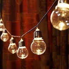 110V/220V Globe Patio String Light <b>6M 20 LED</b> G45 Globe <b>Outdoor</b> ...