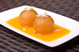 Gulab Jamen - a famous sweet dish of Pakistan.